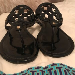 Black Tory Burch Sandals